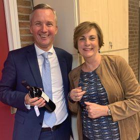 Anneriek Verhoef en Eric van der Burg