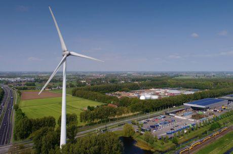 De windmolen bij Treurenburg richting Engelen © Marc Bolsius