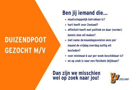 Vacature VVD Zeeland