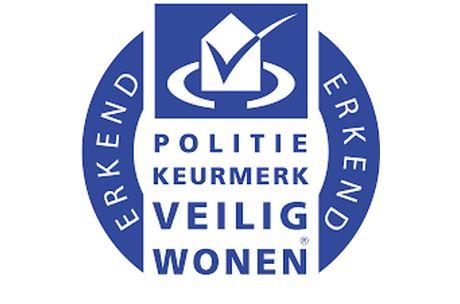 Logo Politie keurmerk veilig wonen