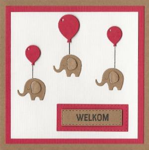 Zwevende olifantjes