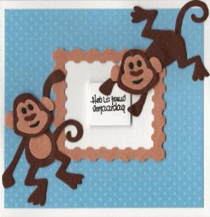 Feest met aapjes!