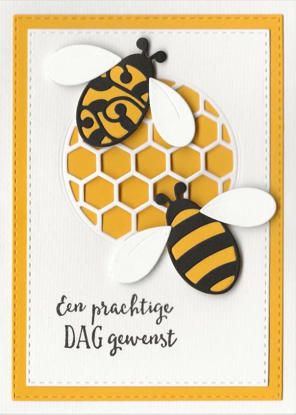 Prachtige dag met bijen
