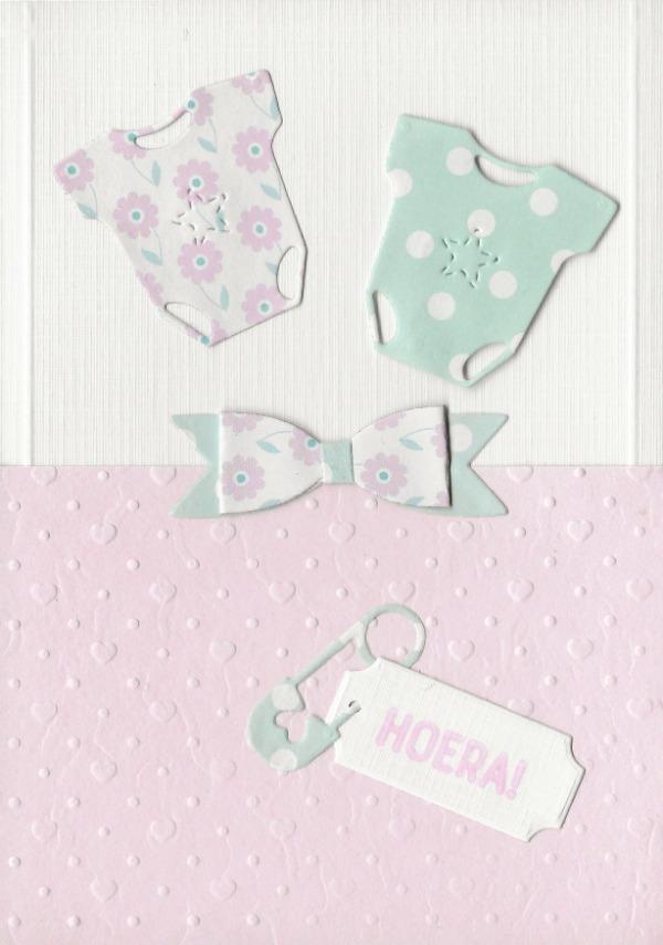 Pastel babykaart