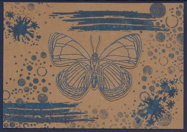 3D-vlek vlinder