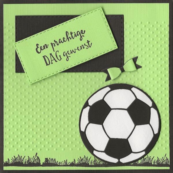 Vrolijk voetballen