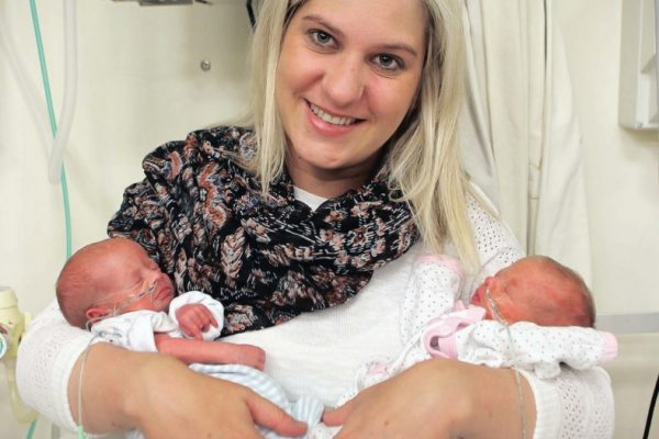 Twin Mother's Day Blessing at C.A.R.E Fertility clinic, Durban