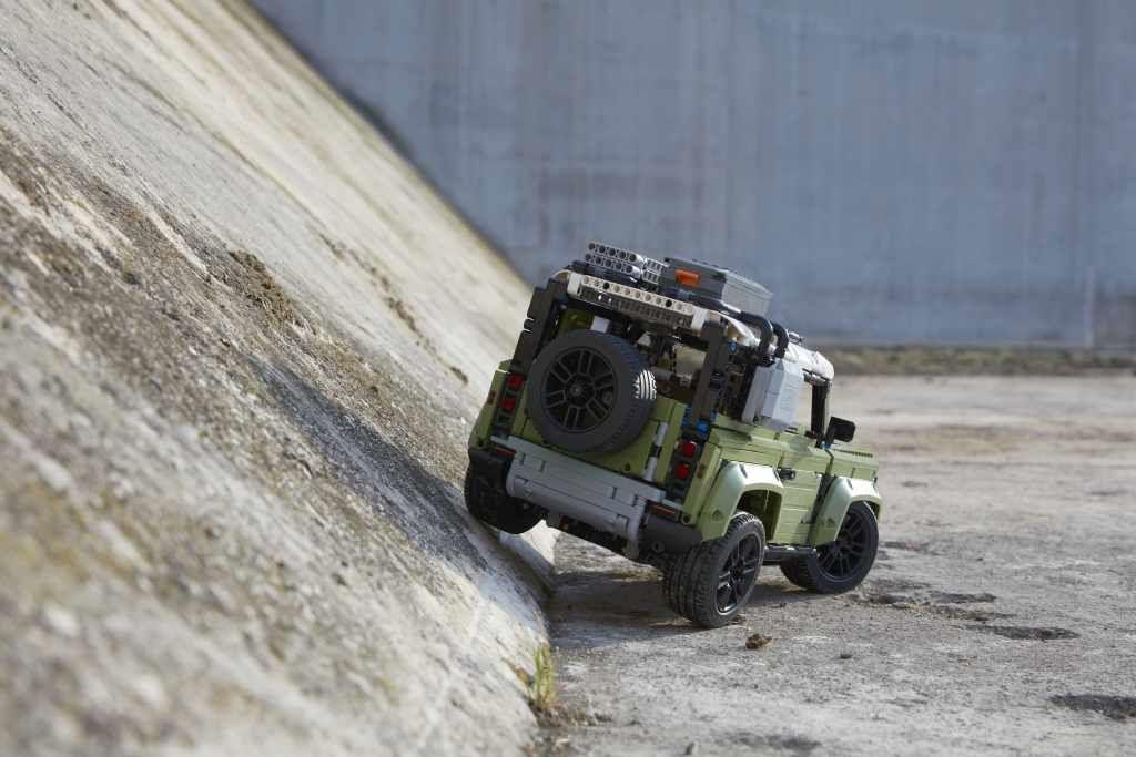 不用等明年 Land Rover New Defender樂高先嘗鮮
