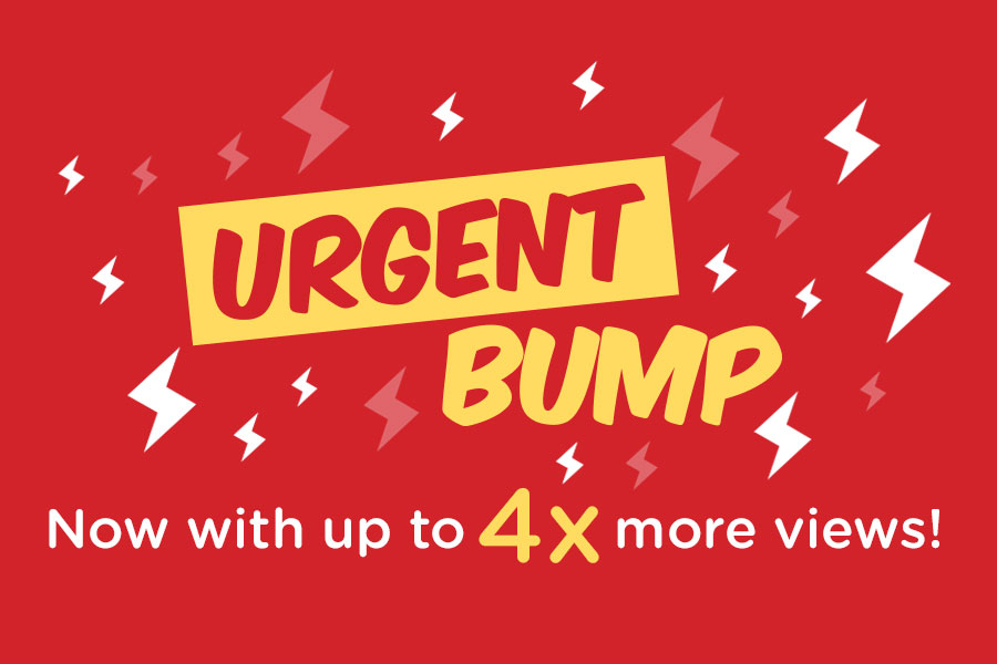 Use Urgent Bumps on Carousell to get 400% more views