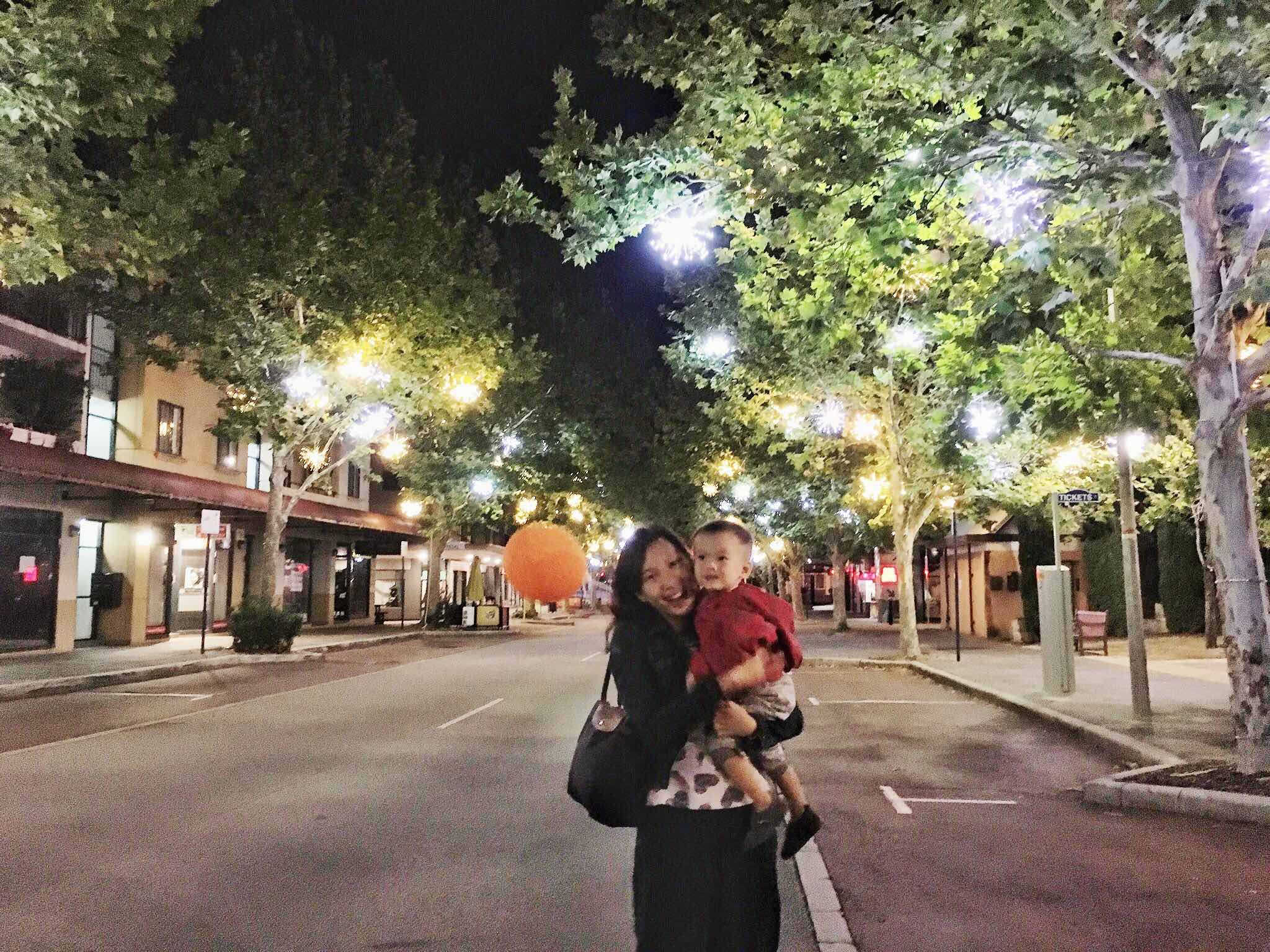 Candice with baby & jacket