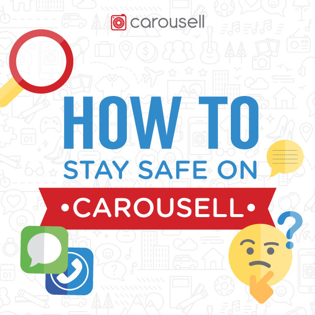 How to stay safe on Carousell
