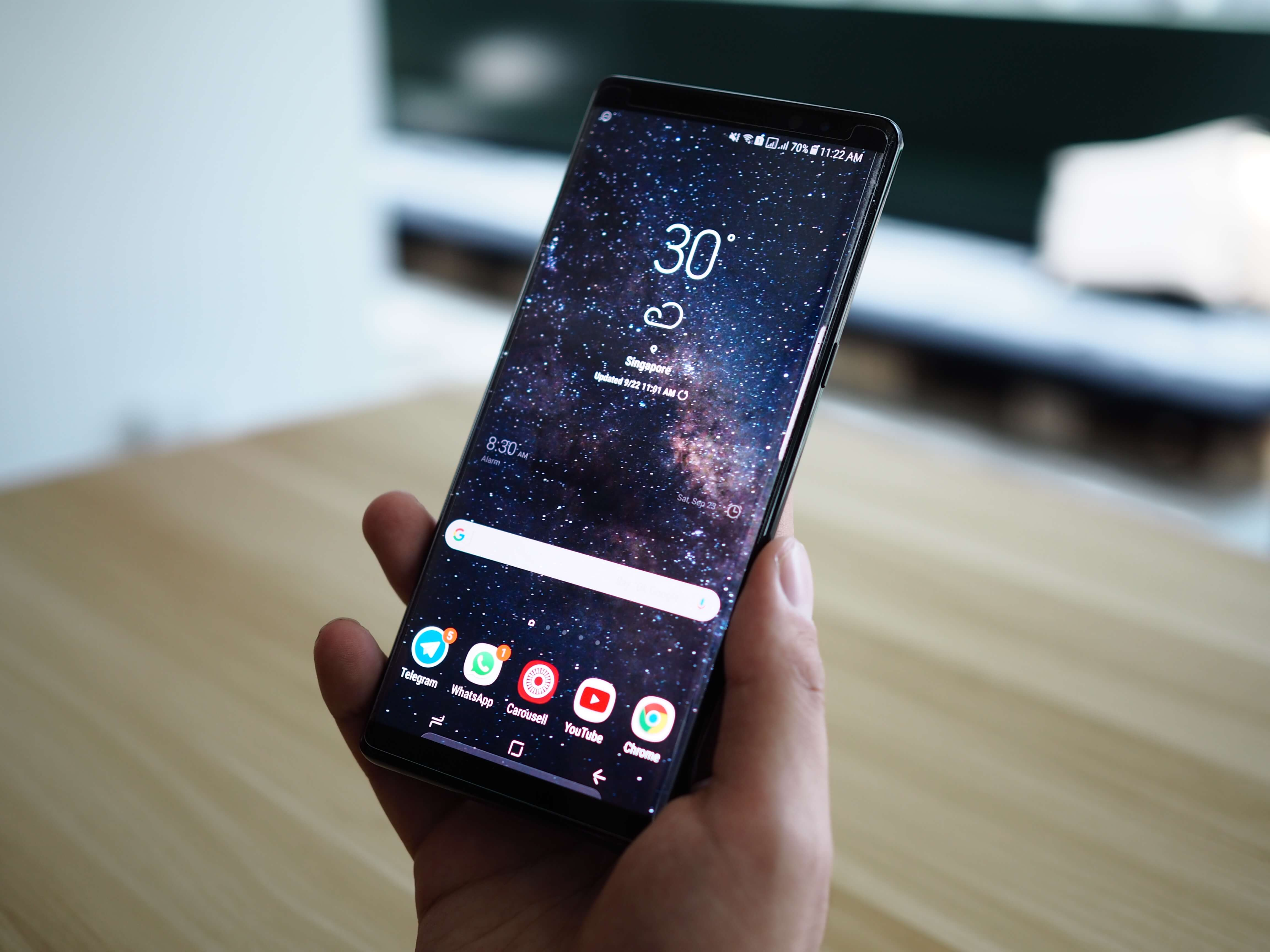 A review about Samsung Galaxy Note 8