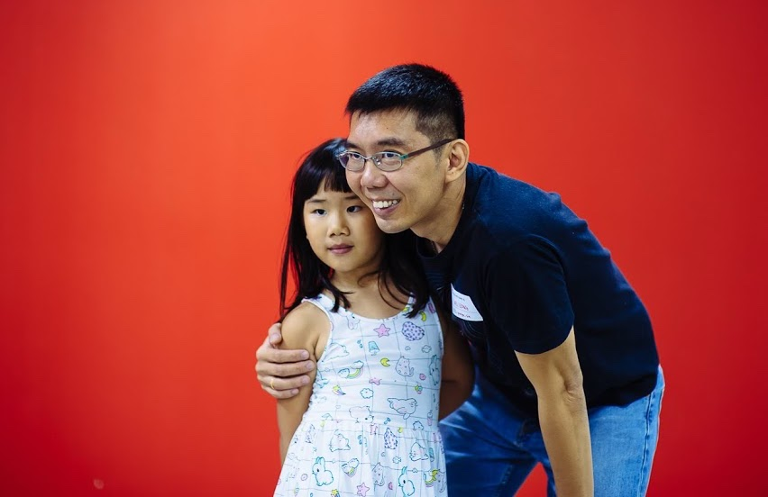 Wei Leong & daughter