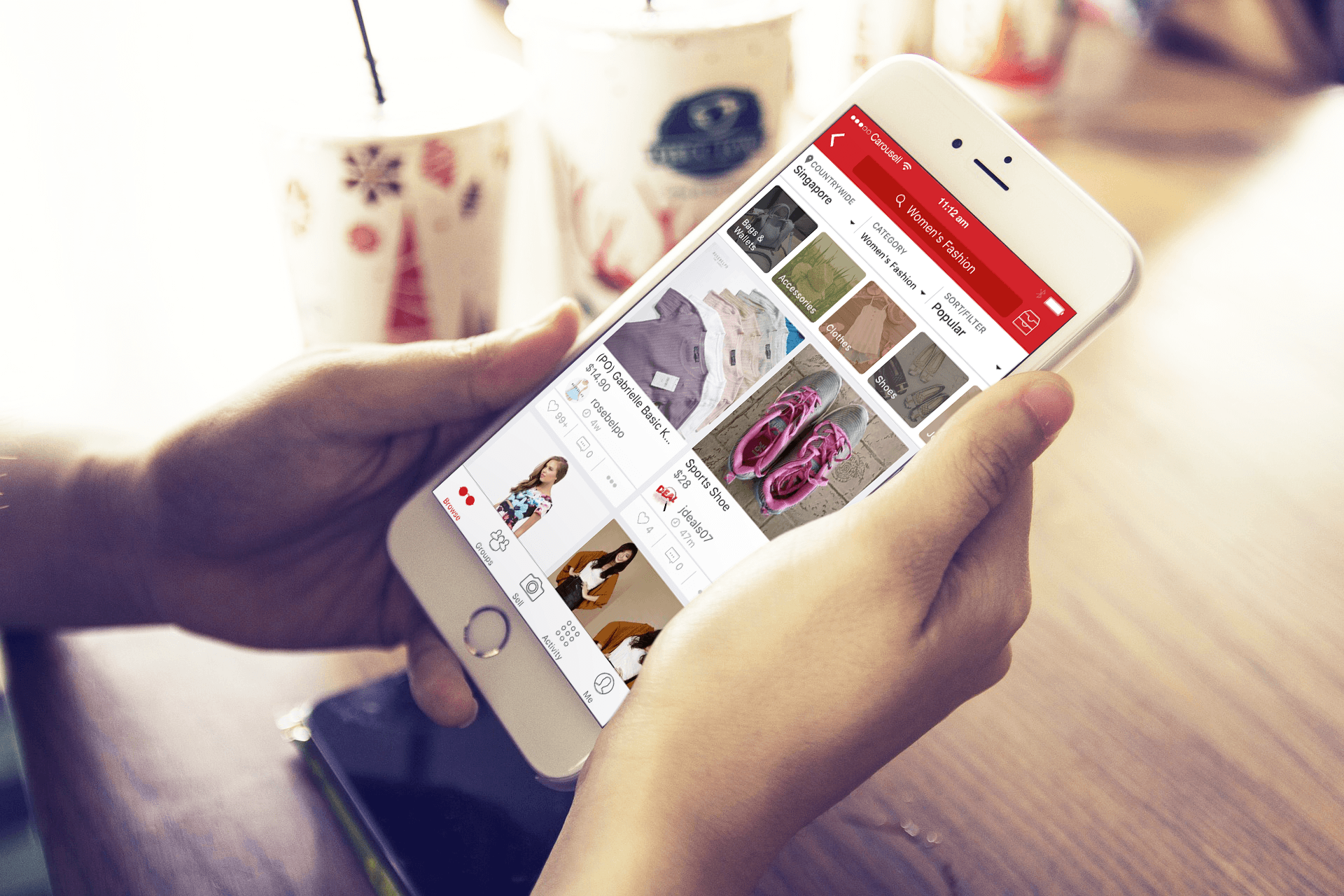 hooked on carousell