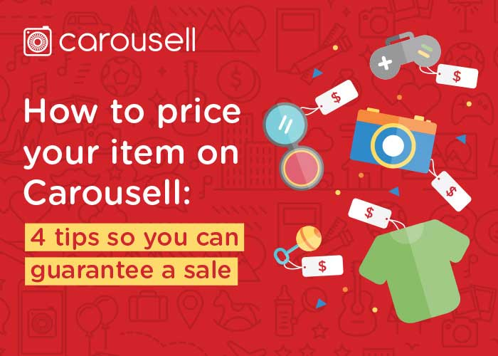 How to price used items on Carousell with four tips