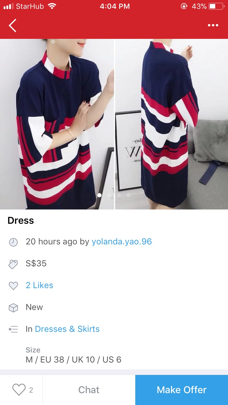 How you should avoid giving brief product description on Carousell and give more details instead