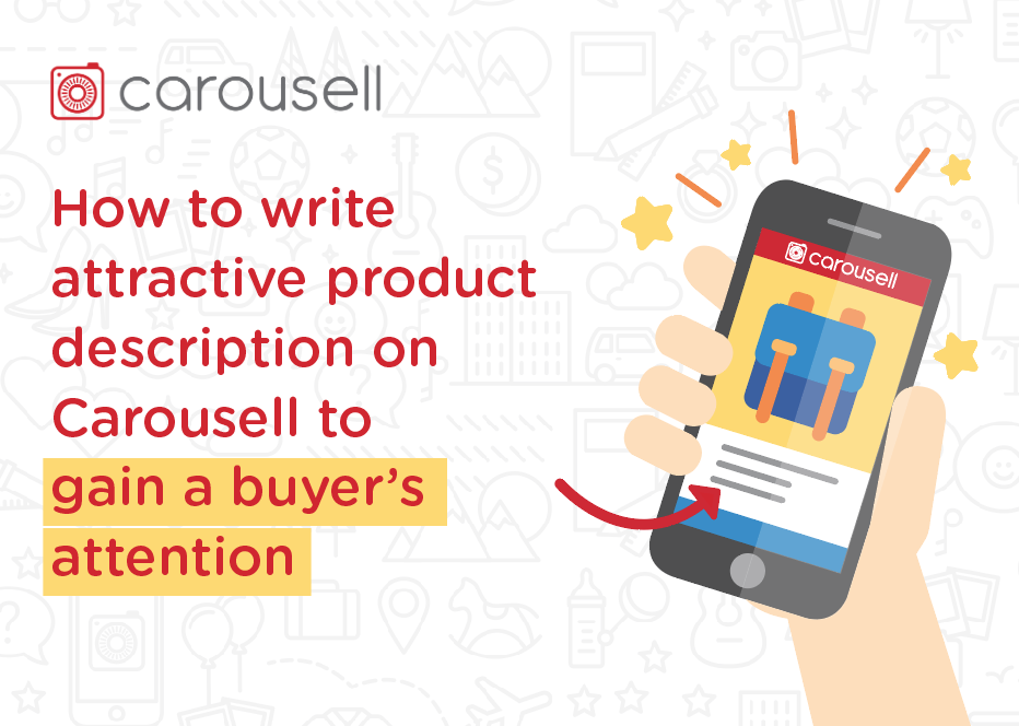 How to write an attractive product description on Carousell