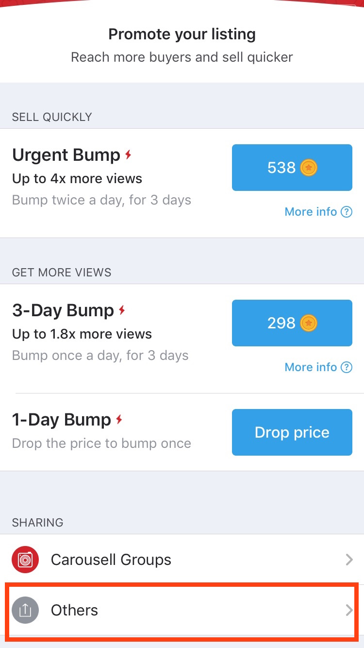 880bef59c8430 How to promote listing on Carousell: 4 tips to get 200% more views