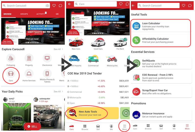 car budget calculator carousell guide