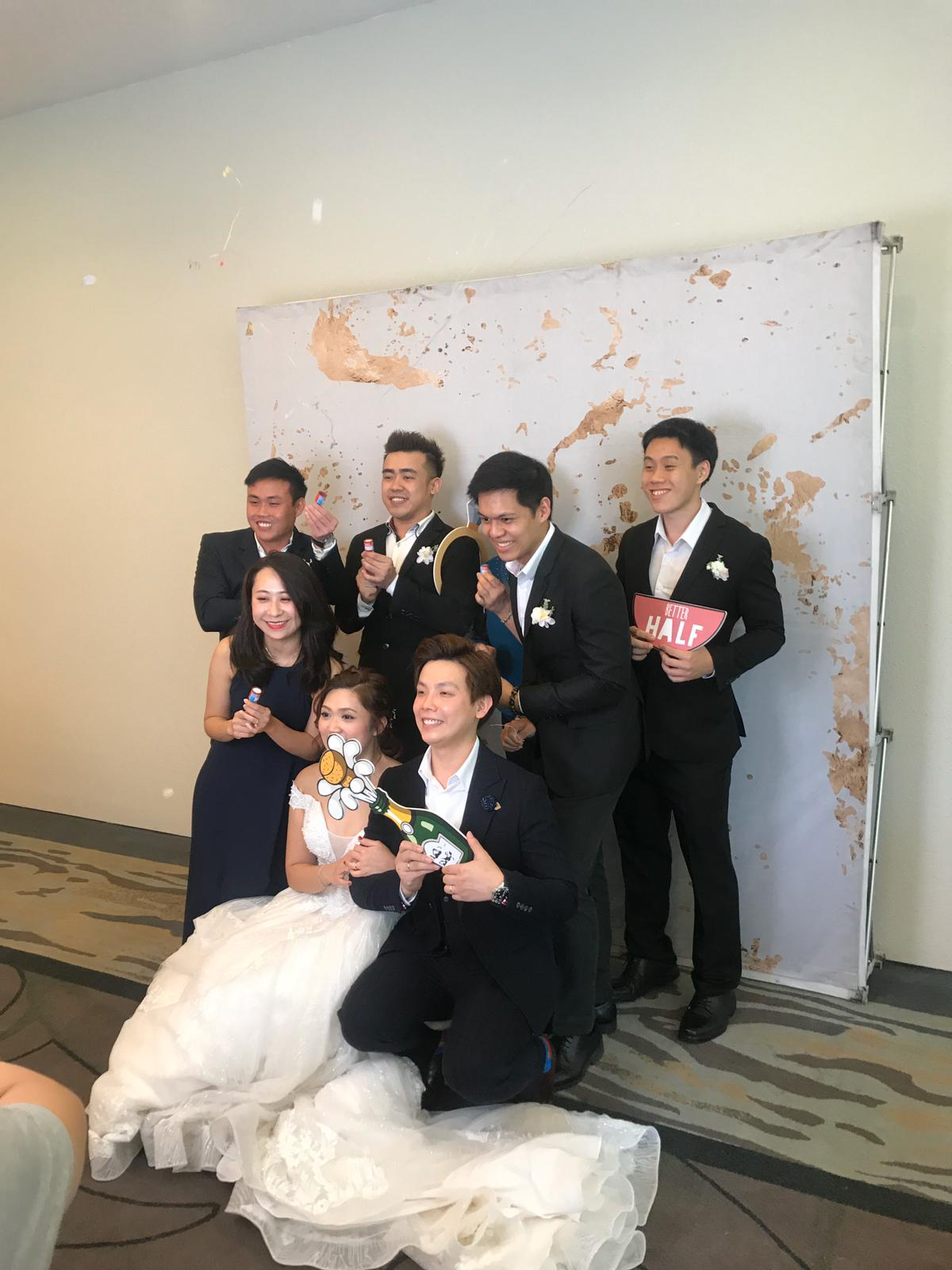 Photo booth wedding found on Carousell