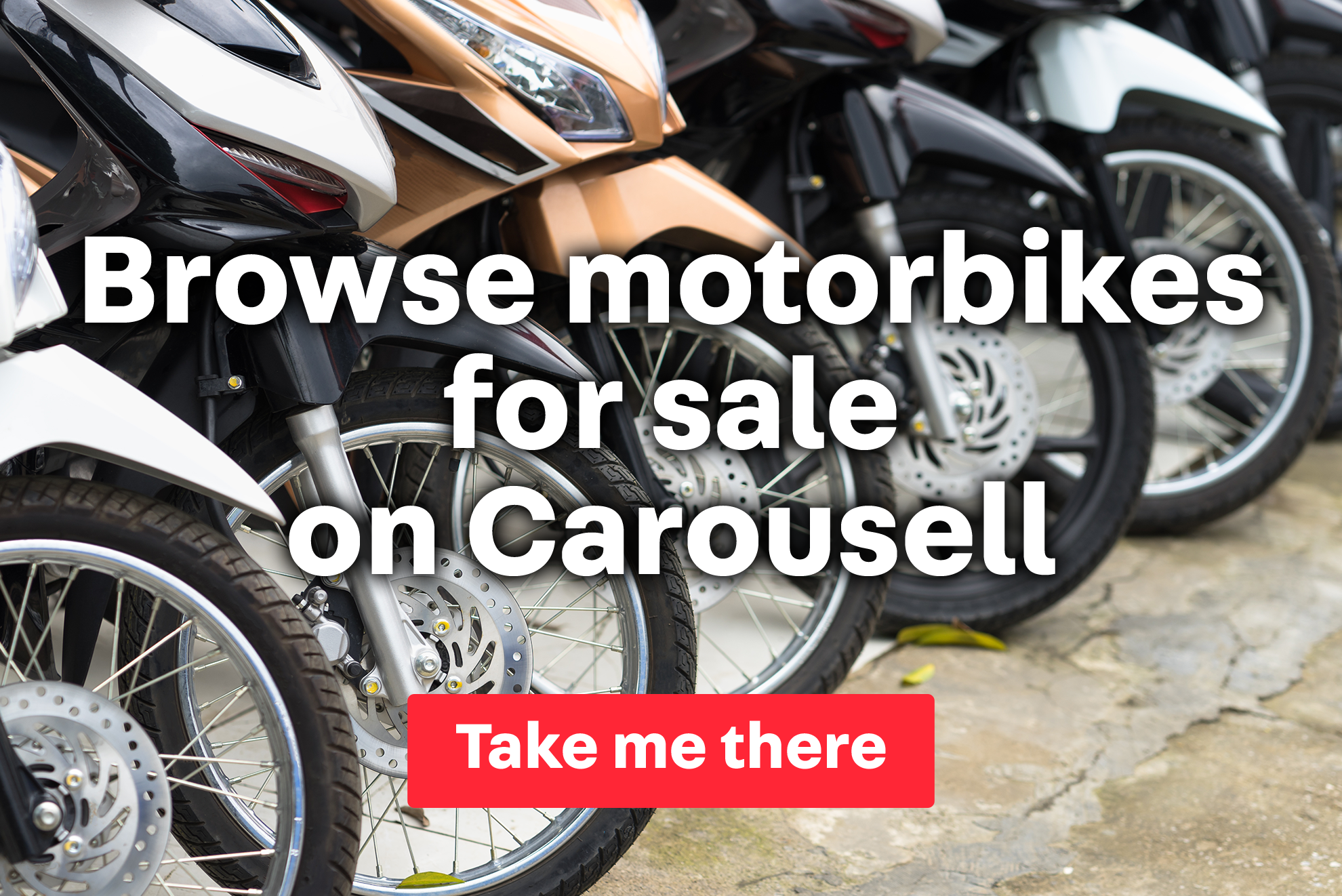 Find new and used motorbikes on Carousell