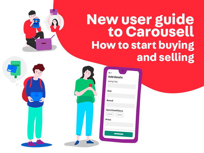 how to buy and sell on Carousell - guide for new users