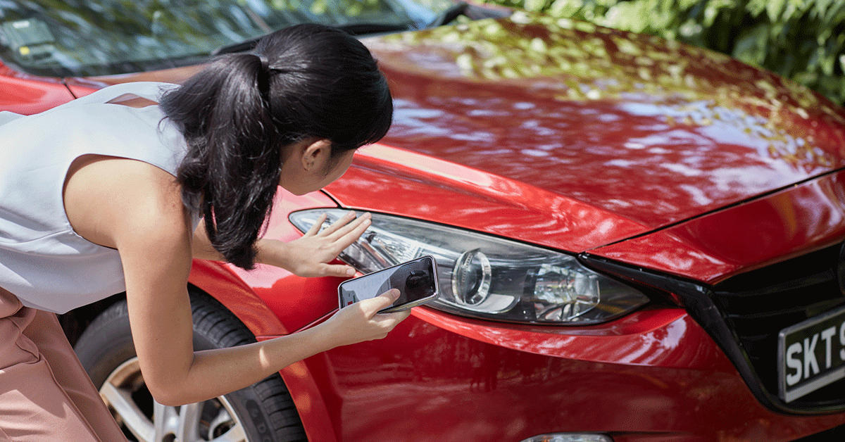 Before buying a used car, be sure to do your own inspection