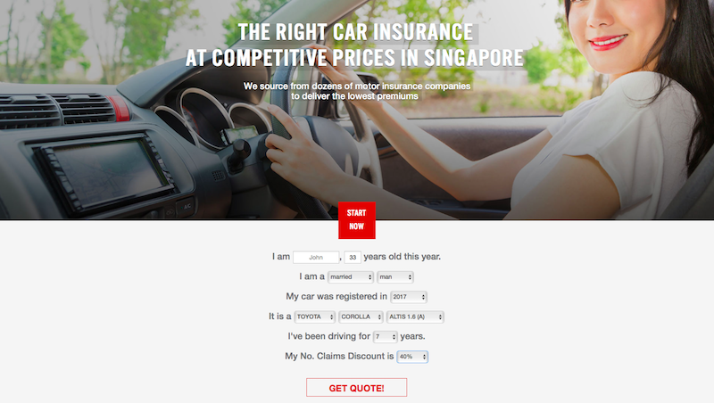 swiftquote cheap car insurance singapore