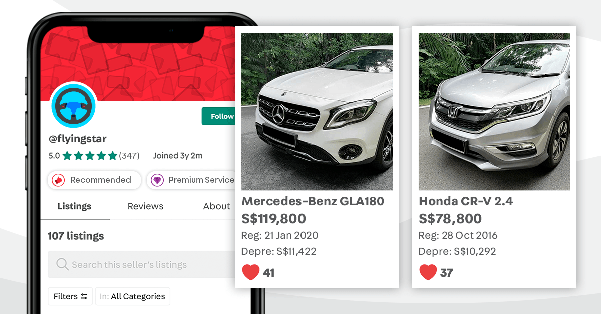 first time guide buying car singapore carousell 2020
