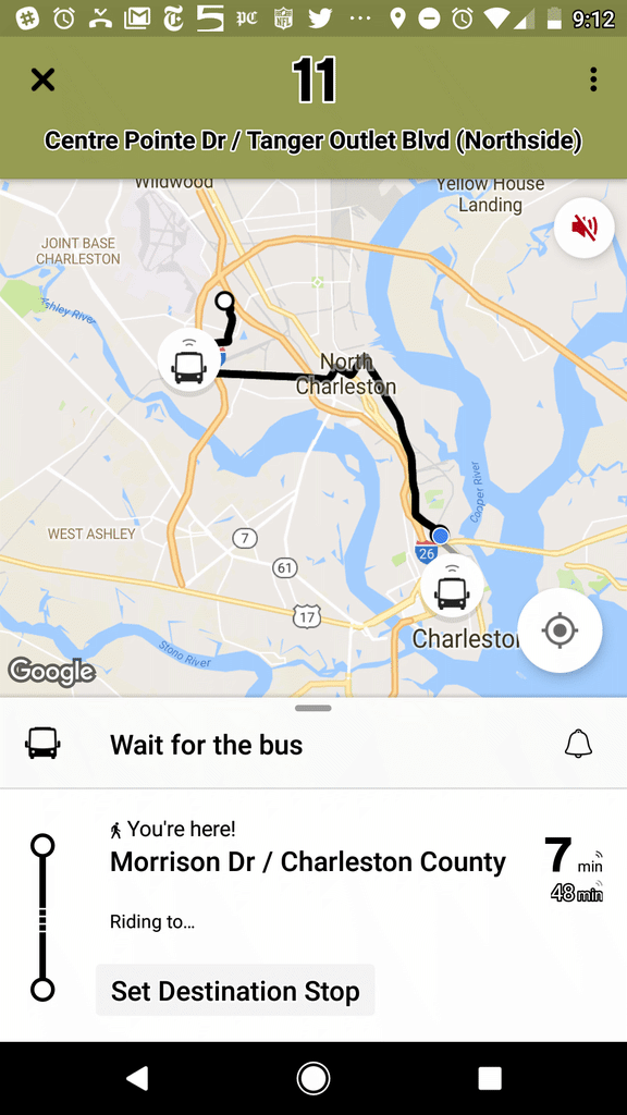 Public Transit Maps & Schedules Charleston, SC