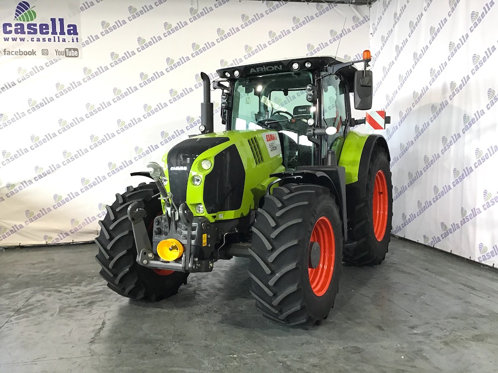 TRATTORE CLAAS ARION 660 CMATIC