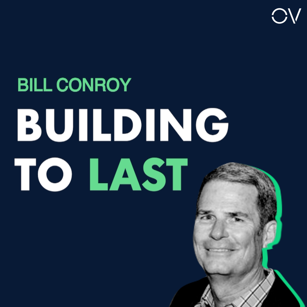 Building to Last | Bill Conroy