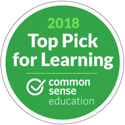 common sense for learning top pick badge