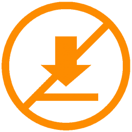 no download required icon