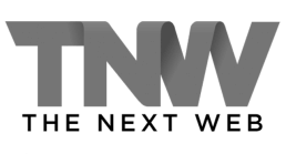 the next web logo black and white