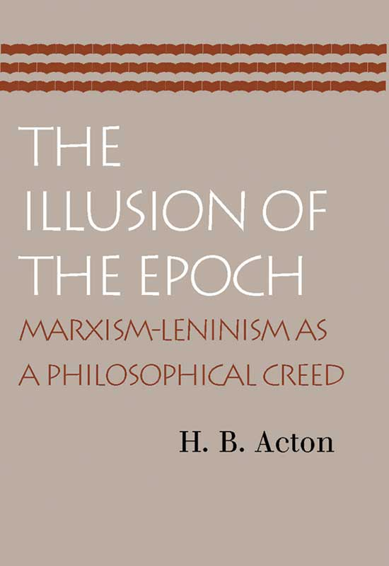 Illusion of the Epoch The
