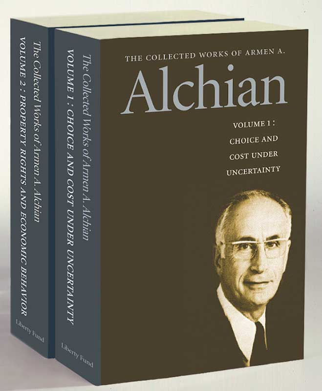 collected works of armen a alchian the