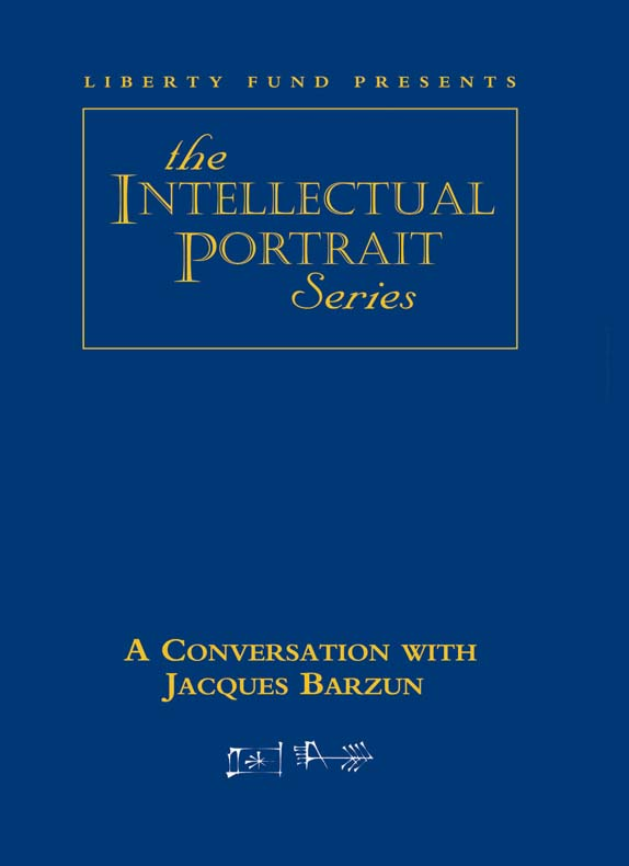 conversation with jacques barzun a