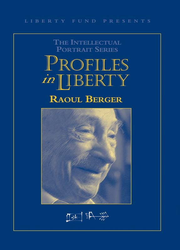 profiles in liberty raoul berger