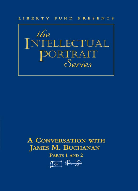 conversation with james m buchanan a