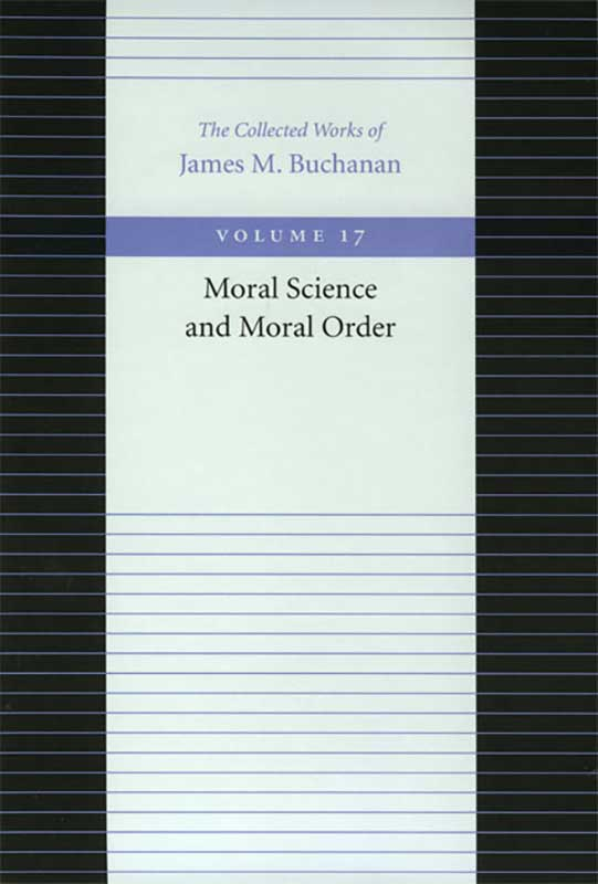 Moral Science and Moral Order