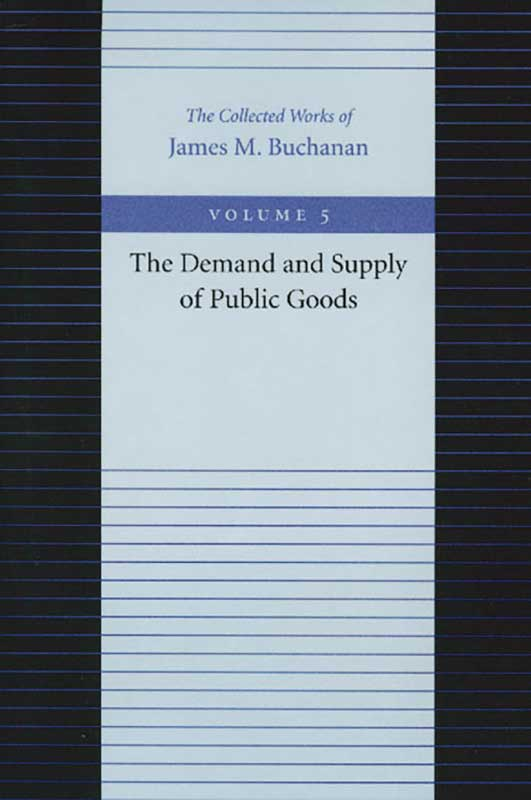 demand and supply of public goods the