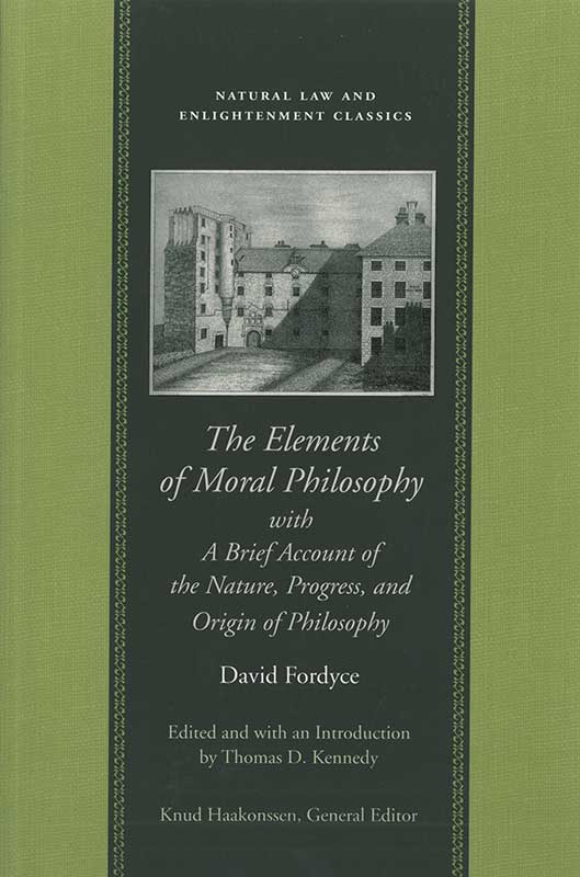 elements of moral philosophy with a brief account of the nature progress and origin of philosophy the