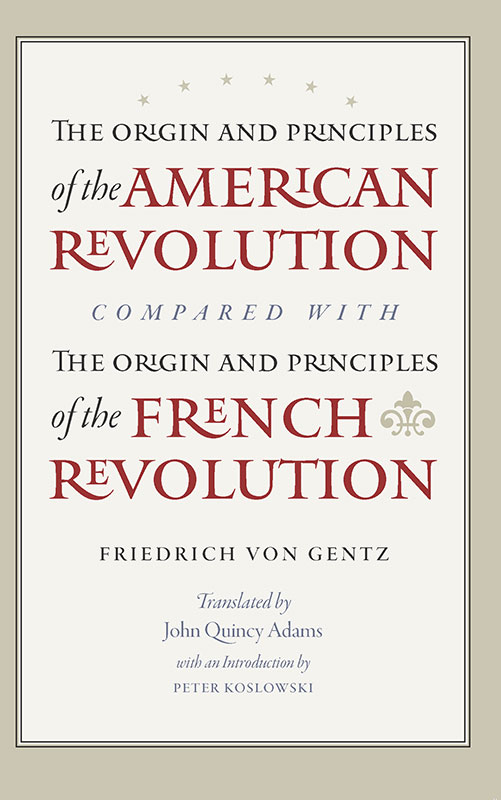 origin and principles of the american revolution compared with the origin and principles of the french revolution the