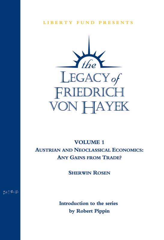 austrian and neoclassical economics
