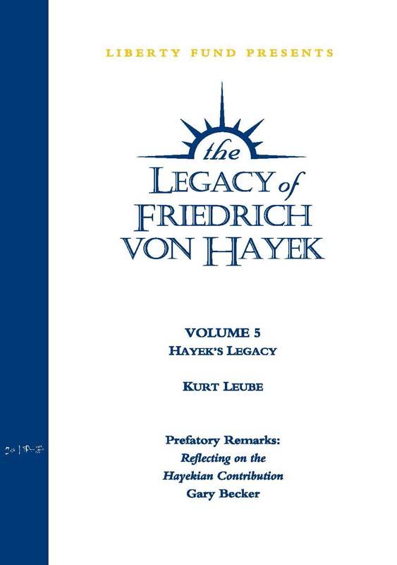 hayeks legacy