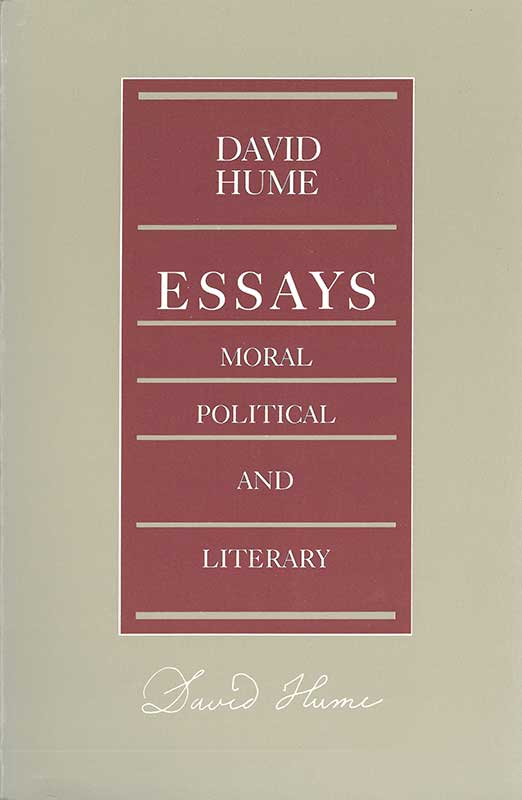 essays moral political and literary