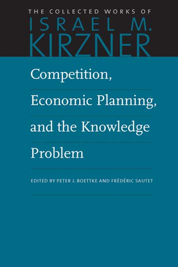 competition economic planning and the knowledge problem