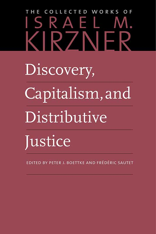 discovery capitalism and distributive justice