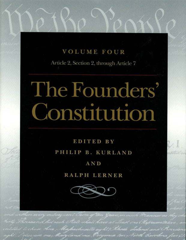 founders constitution the article  section  through article